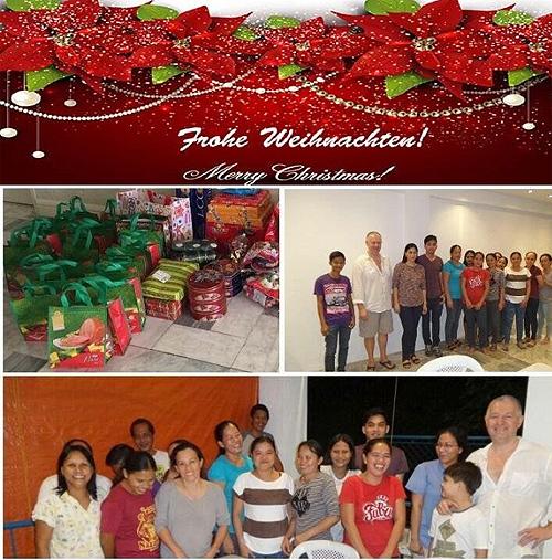 frohe weihnachten philippinisch